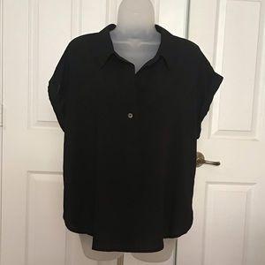 a new day Black Blouse Sz XL